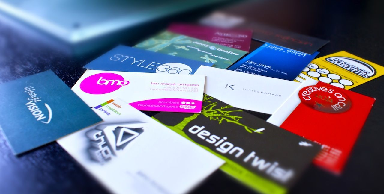 customize business cards