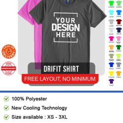 Drifit - performance t-shirt Thumbnail