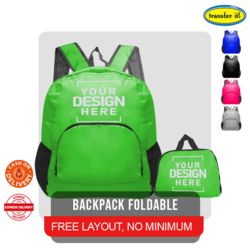 Backpack Foldable  Thumbnail