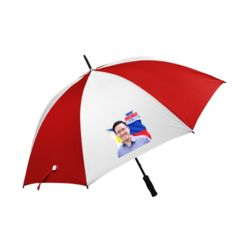 TWO TONE UMBRELLA WITH PRINT Thumbnail