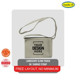 Landscape Sling pouch with Canvas Strap Thumbnail