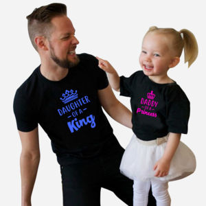 Daddy of a Princess and Daughter of a King Thumbnail