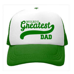 Worlds Greatest Dad Trucker Cap Thumbnail