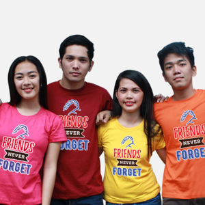 Friends Never Forger Group Shirt Thumbnail