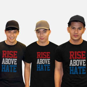 Rise Above Hate Group Shirt Thumbnail